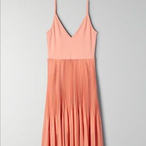 Aritzia - Wilfred Daphnee dress, Tawny Orange, NWT